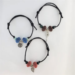 Adjustable Aromatherapy Bracelets Set 1
