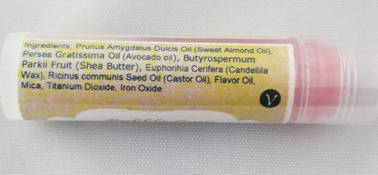 Bubble Gum Lip Balm Ingredients
