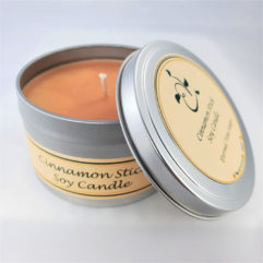 Cinnamon Stick Soy Candle Open