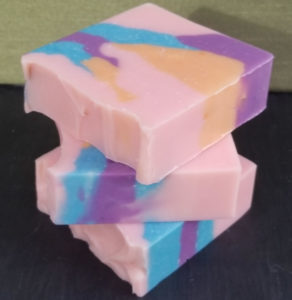 Energy Handmade Soap Bars Stacked