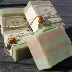 Faith- Eucalyptus Mint Handmade Soap