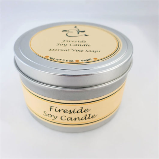 Fireside Soy Candle Closed