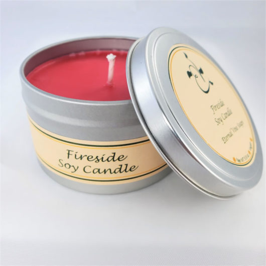Fireside Soy Candle Open