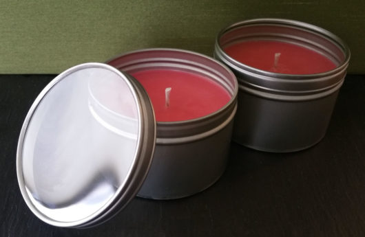 Ginger Frankincense Candle Tins