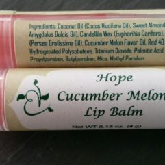 Hope Cucumber Melon Lip Balm