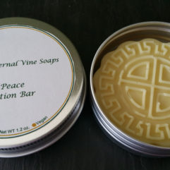 Lavender Lotion Bar in Tin