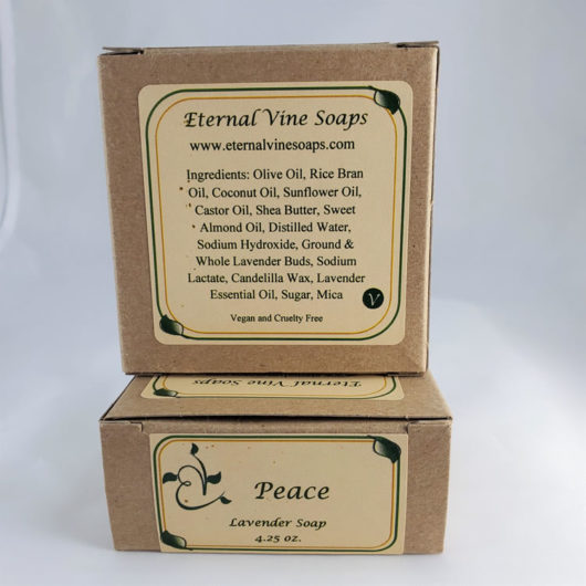 Peace Boxed Back