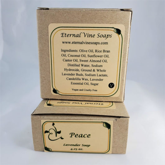 Peace No Color Boxed Back