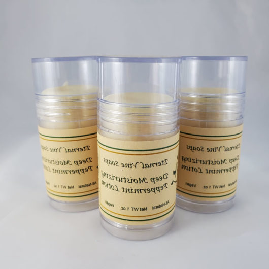 Peppermint Lotion Stick 3