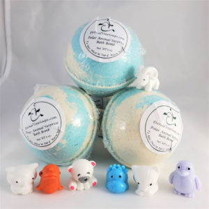 Polar Bath Bombs Front