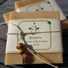 Restore Oatmeal, Milk, and Honey Handmade Soap
