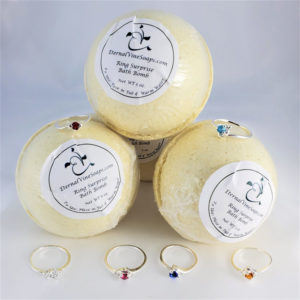 Ring Bath Bombs Front