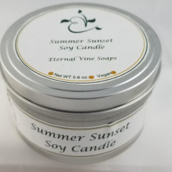 Summer Sunset Soy Wax Candle