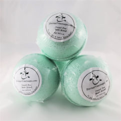 Sweet Pea Bath Bombs Front