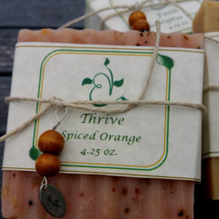 Thrive Spiced Orange Handmade Soap