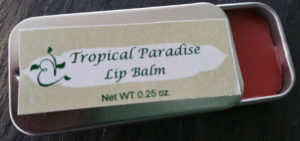 Tropical Paradise Open Tin