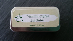Vanilla Coffee Lip Balm in a Tin