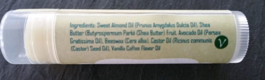 Vanilla Coffee Lip Balm Tube