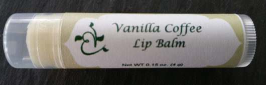 Vanilla Coffee Lip Balm Tube Front