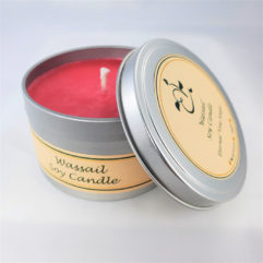 Wassail Soy Candle Open